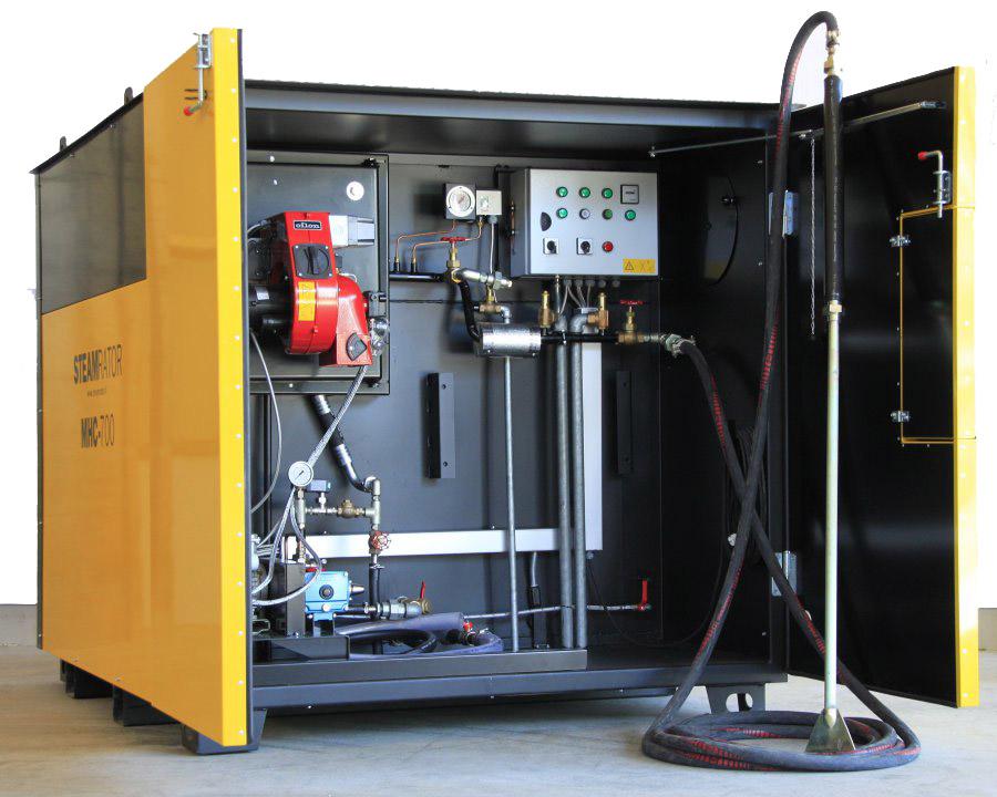 парогенератор промышленный мобильный